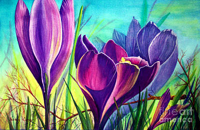 Awakening Art Print by Nancy Cupp