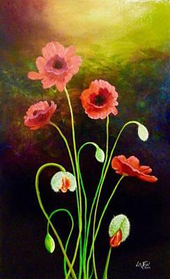 Painting - Awakening  by Owen Lafon