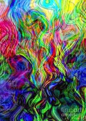 Creative Manipulation Photograph - Awakening Serpent Power by Anna Sheradon
