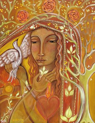 Awakening Wall Art - Painting - Awakening by Shiloh Sophia McCloud