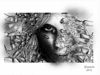 Abstract Sights Mixed Media - Awakening To Reality by Ricardo Mester