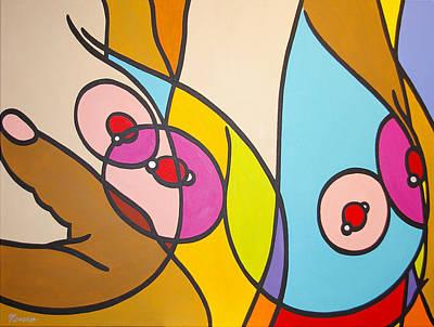 Painting - Awareness by Guadalupe Herrera