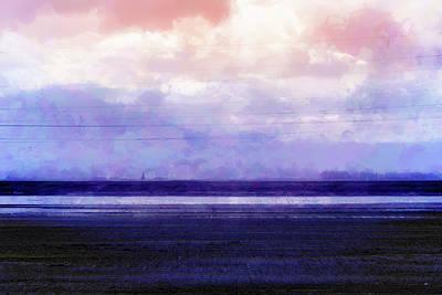 Awash In Violet Art Print