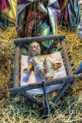 Photograph - Away In A Manger by Ian Mitchell