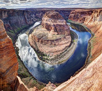 Awesome Amazing Horseshoe Bend Arizona Art Print