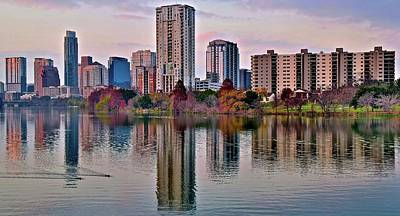 Photograph - Awesome Austin  by Frozen in Time Fine Art Photography