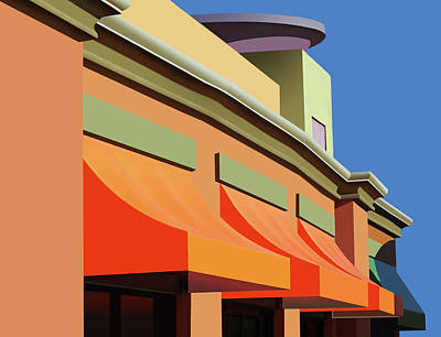 Photograph - Awesome Awnings by Nikolyn McDonald