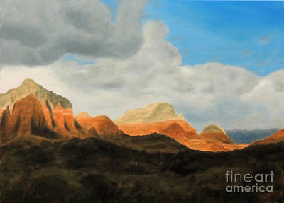Painting - Awesome In Arizon by David Swint