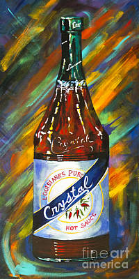 Painting - Awesome Sauce - Crystal by Dianne Parks