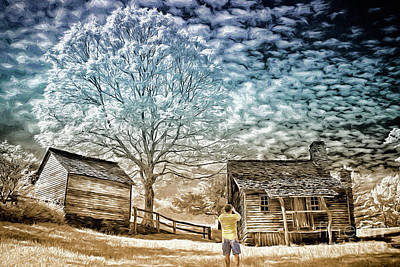 Digital Art - Awesome Shot - Blue Ridge Ap by Dan Carmichael