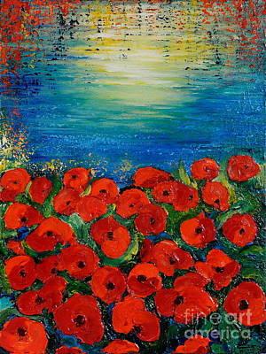 Painting - Life Is Like A Poem by Teresa Wegrzyn