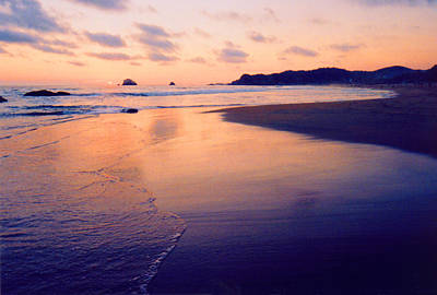 Awesome Zipolite Sunset 2 Art Print by Lyle Crump