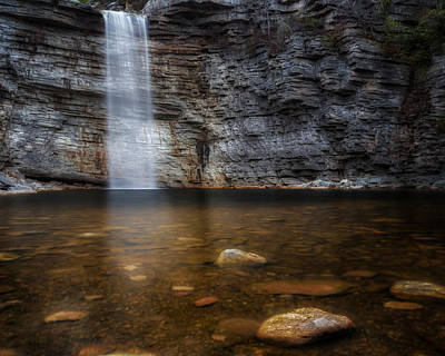 New Paltz Photograph - Awosting Falls by Bill Wakeley
