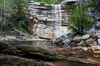 Photograph - Awosting Falls In July I by Jeff Severson