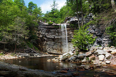 Photograph - Awosting Falls In July IIi by Jeff Severson