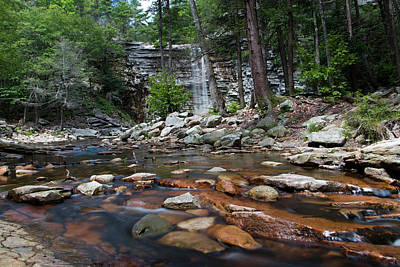 Photograph - Awosting Falls In July Iv by Jeff Severson