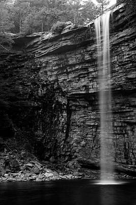 Awosting Falls In Spring #4 Art Print by Jeff Severson