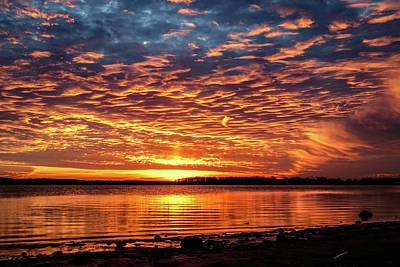 Photograph - Awsome Sunset by Doug Long