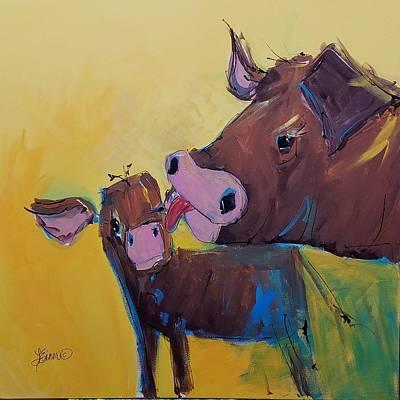 Painting - Awww Ma by Terri Einer