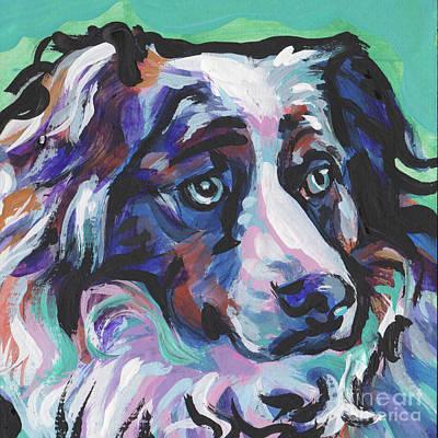 Shepherd Dog Painting - Awww See Me by Lea