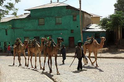 Stela Photograph - Axum, Ethiopia, East Africa by Aidan Moran