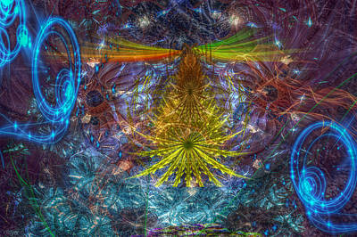 Mixed Media - Aya by Bill Oliver
