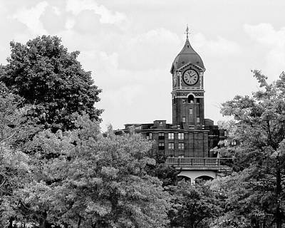 Photograph - Ayer Mill Clock Tower, Lawrence, Ma by Betty Denise