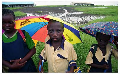 Photograph - Ayetoro Pupils by Muyiwa OSIFUYE