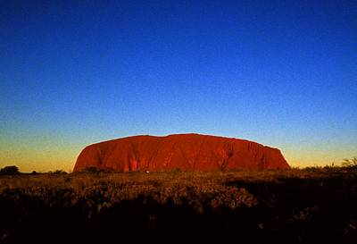 Photograph - Ayres Rock Uluru by Gary Wonning