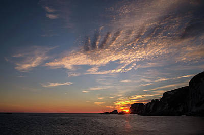 Photograph - Ayrmer Cove In South Hams by Pete Hemington