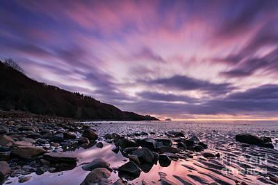 Sunset Beach Wall Art - Photograph - Ayrshire Sunset - Scotland by Rod McLean