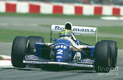 Photograph - Ayrton Senna. 1994 May 1 by Oleg Konin