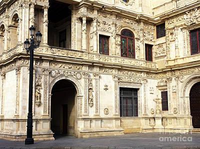 Photograph - Ayuntamiento De Sevilla by John Rizzuto