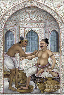 Photograph - Ayurvedic Treatment, Snehana And Svedana by Wellcome Images