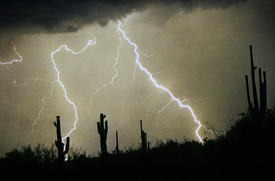 Az Desert Storm Art Print by James BO  Insogna