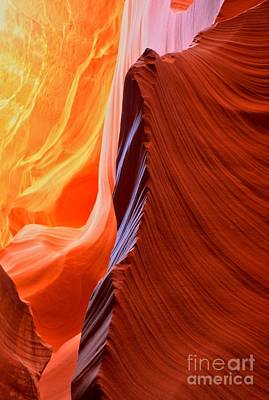Photograph - Az Slot Canyon Rainbow by Adam Jewell