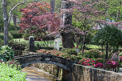 Sean - Azalea Garden Bridge by Catherine Sherman
