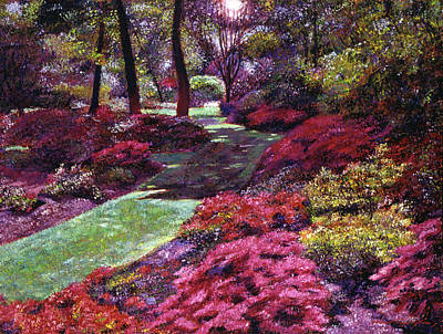 Painting - Azalea Park by David Lloyd Glover