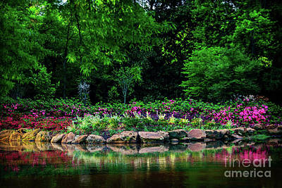 Photograph - Azalea Pond by Tamyra Ayles