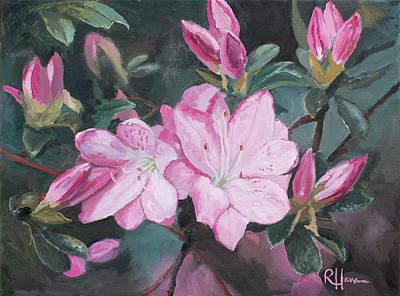 Painting - Azalea by Rachel Hames