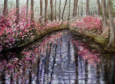 Painting - Azalea River by Susan Jenkins