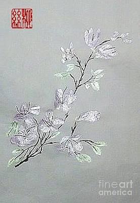 Azaleas Blooming Art Print
