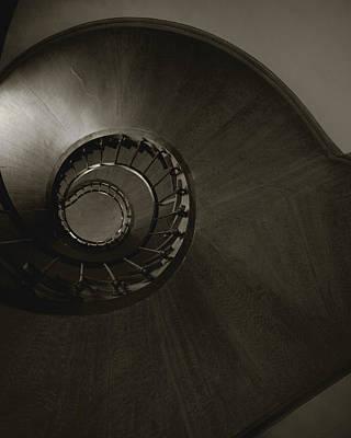 Azay Le Rideau Staircase Loire Valley Chateau France Original