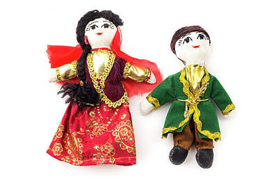 Photograph - Azeri Dolls by Fabrizio Troiani