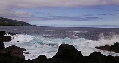 Photograph - Azores Coast 4 by Julia Woodman
