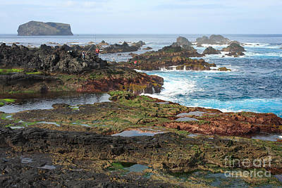 Gaspar Avila Photograph - Azores Seascape by Gaspar Avila