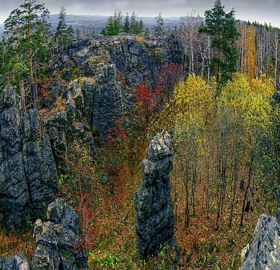 Photograph - Azov Mauntain Ridge by Vladimir Kholostykh