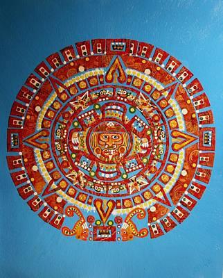 Calendars Mixed Media - Aztec by Bob Craig