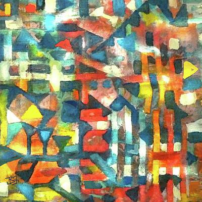 Digital Art - Aztec Flavor by Jean Batzell Fitzgerald