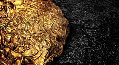 Digital Art - Aztec Gold by Anton Kalinichev